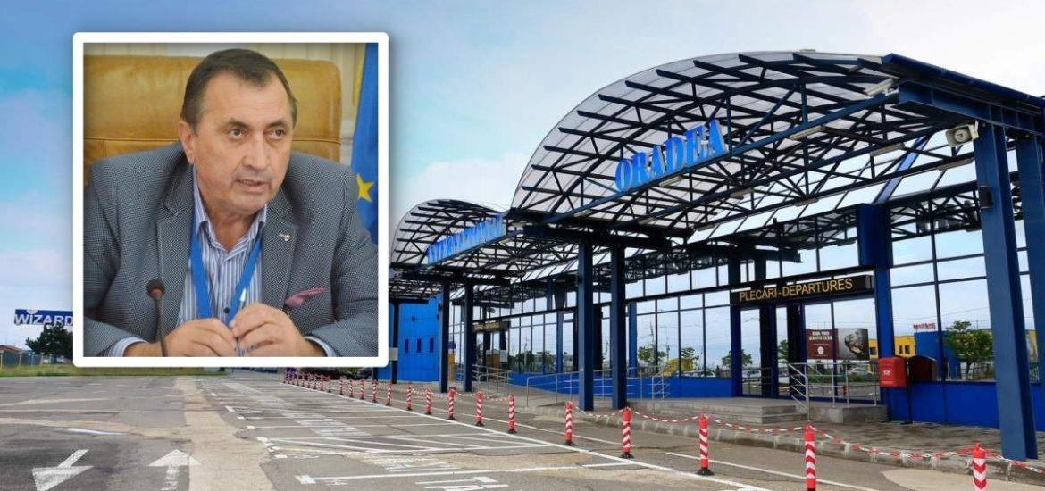 Directorul Aeroportului Oradea, Gheorghe Pasc, si-a dat demisia la presiunile lui Bolojan
