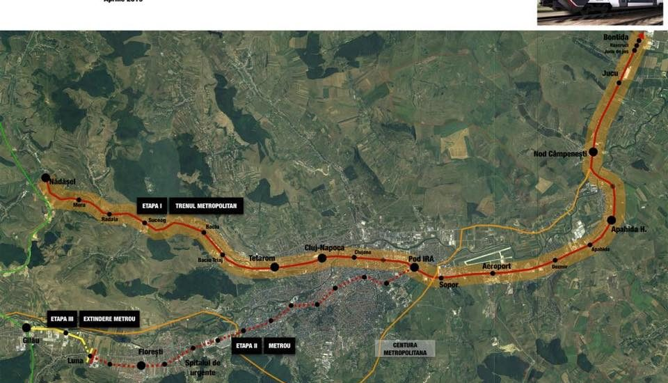 Clujenii tot mai aproape de a avea metrou. Cinci firme s-au aratat interesate de proiect