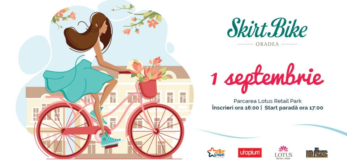Skirt Bike Oradea 2019 – program si traseu