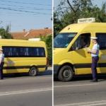 Politistii verifica, zilele acestea, autovehiculele destinate transportului scolar