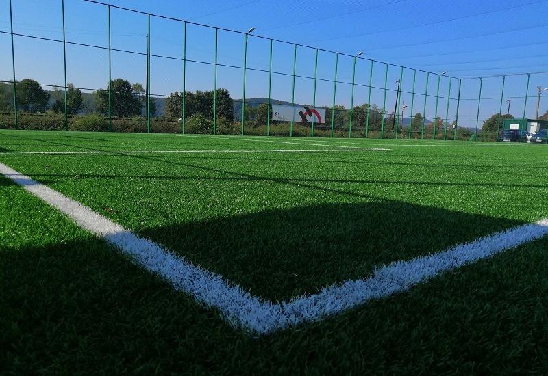 Primăria Aștileu și Holcim România au inaugurat astăzi primul teren de sport multifuncțional din comuna Aștileu