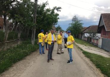 Liberalii din Ineu pornesc o actiune de curatenie si ecologizare a comunei