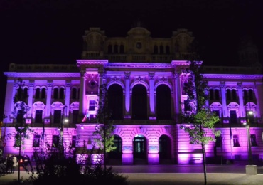 La initiativa Femeilor Liberale din Oradea, Podul Centenarului si Primaria Oradea vor fi iluminate in roz, maine 1 octombrie, cu ocazia Zilei Mondiale de Lupta Impotriva Cancerului de San