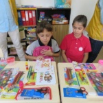 Copiii de la Centrul de Zi au primit gratuit rechizite de la DASO si Clubul Lions  Oradea