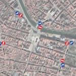 Toata zona centrala a Oradiei are traficul restrictionat intre orele 18:00-24:00, pana duminica 6 octombrie