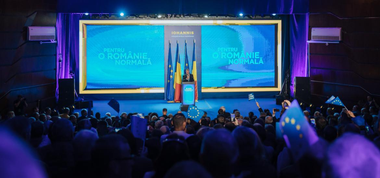 Klaus Iohannis a explicat la Focșani ce înseamnă o Românie normală