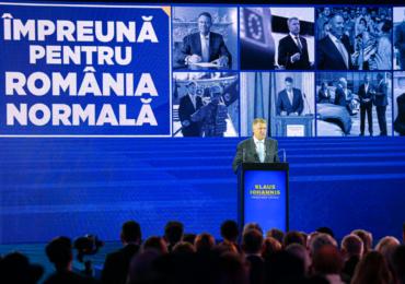 """Klaus Iohannis și-a prezentat programul prezidențial """"Împreună pentru România normală"""""""