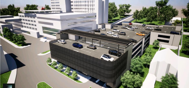 Trei ofertanti pentru construirea parcarii supraetajate de la Spitalul Judetean Oradea