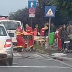 Politia face precizari in cazul accidentului de astazi de pe Calea Maresal Averescu, in care au fost implicate trei autovehicule