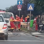 Accident grav, in aceasta dimineata pe Maresal Averescu, 3 minore au ajuns in stare grava la spital