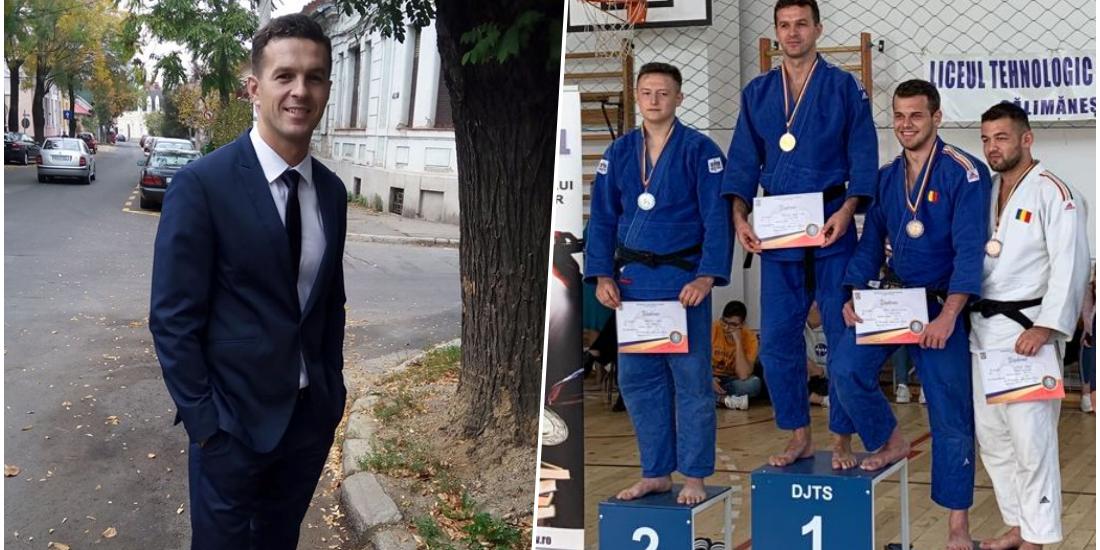Pompierul bihorean Bogoşel Adrian a câștigat cel de-al 10-lea titlu de campion naţional la judo