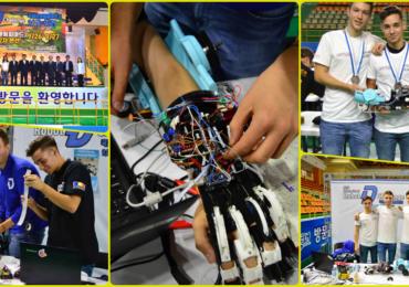Oradea, medalia de Argint la Olimpiada Internationala de Robotica din Corea de Sud