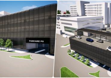 Continuă lucrările de extindere a Spitalului Județean și se fac pregătiri pentru parcarea supraetajată