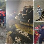 15 autospeciale ISU au participat la stingerea unui incendiu produs intr-un tunel feroviar dintre Suncuius si Vadu Crisului, intr-o simulare a unui Plan rosu de interventie