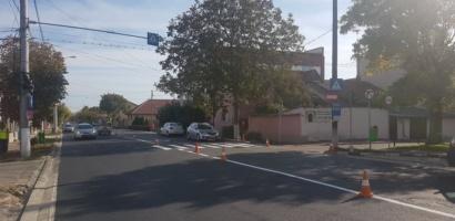 Strada Vladeasa a fost asfaltata, iar circulatia rutiera a fost redeschisa
