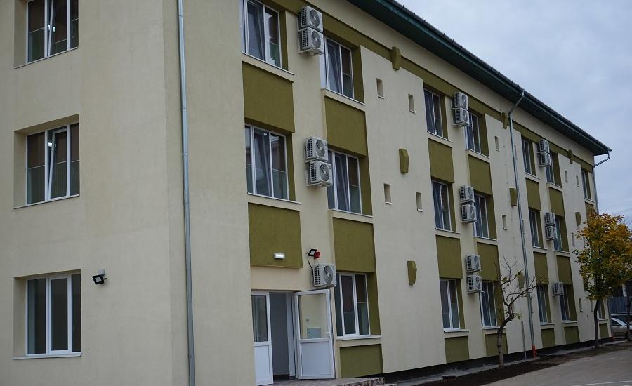 Caminul internat de la Colegiul Tehnic Traian Vuia din Oradea a fost reabilitat