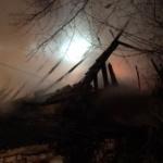Incendiu puternic, ieri noapte, la un ocol silvic din judetul Bihor