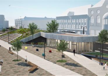 Primaria Oradea va construi o piateta, destinata relaxarii, peste parcarea de pe strada Independentei