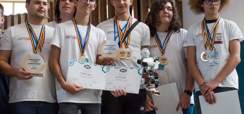 O nouă victorie pentru roboticientii din Oradea!