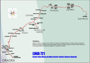 Se infiinteaza doua noi linii metropolitane de autobuz – 721 si 722. Vezi ce localitati vor deservi, orarul si traseul.