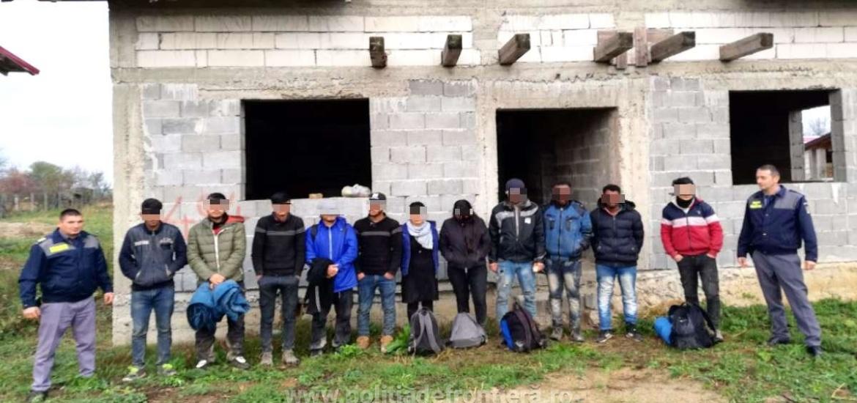 11 cetateni din Afganistan, Somalia si Iran, descoperiti in Girisu de Cris, in timp ce incercau sa treaca fraudulos frontiera
