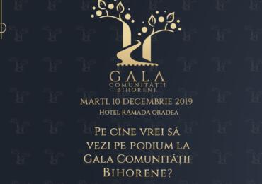 Fundația Comunitară Oradea organizeaza Gala Comunității Bihorene, duminica, 10 noiembrie 2019