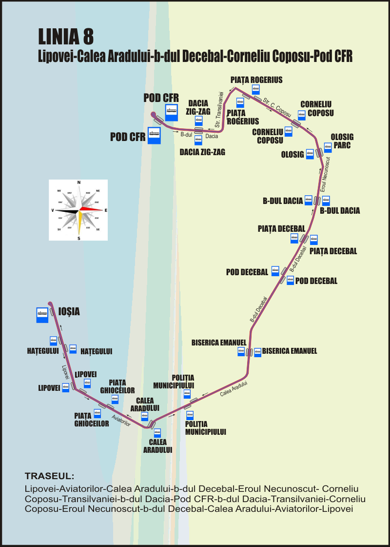 linia 8 oradea