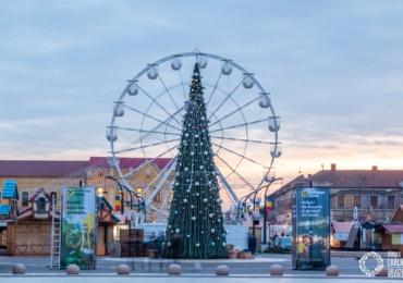 Visit Oradea explica de ce roata carusel nu functioneaza inca