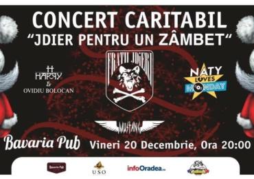 """""""JDiERI pentru un zâmbet"""", seara de rock in scop caritabil la Bavaria Pub din Oradea"""