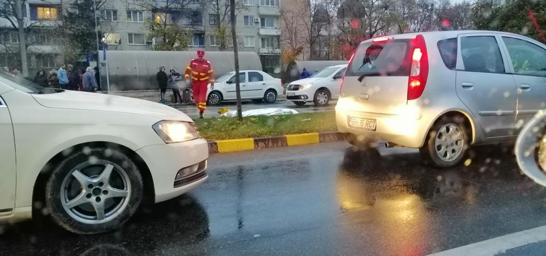 Femeie accidentata mortal, in aceasta dimineata, pe bdul. Dacia din Oradea