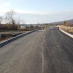 Continua lucrarile pentru finalizarea drumului de legatura Oradea-Osorhei, prin cartierul Podgoria