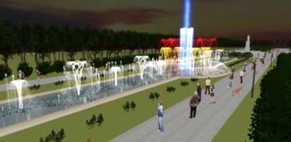 Primăria Oradea va reabilita parcul 1 Decembrie din fonduri europene si va construi o fântână ornamentală muzicală cu jocuri de apă și lumini