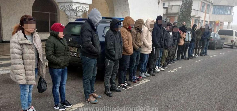 19 irakieni si sirieni, prinsi in aceeasi zi, in incercarea de a trece fraudulos frontiera pe la Bors