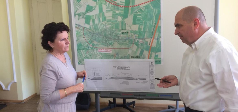 Primaria Oradea, Primaria Biharia si ZMO au semnat un acord pentru construirea centurii Biharia de pe DN 19