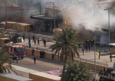 Stare de alerta la Bagdad. Mai multe rachete Katiușa au explodat langa ambasada SUA