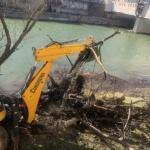 A.B.A Crișuri a început igiernizarea cursurilor de apă din judetul Bihor