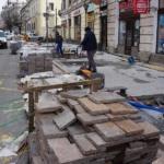 Se paveaza cu porfir pe strada Republicii din Oradea