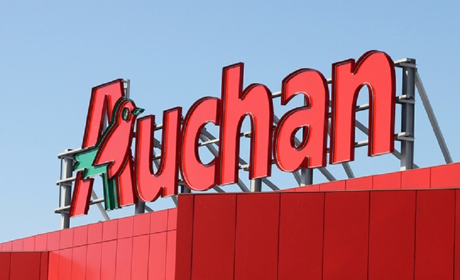 Auchan deschide case dedicata voluntarilor care cumpara alimente pentru cei ce nu se pot deplasa