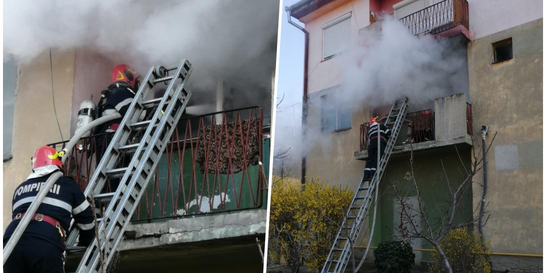 Incendiu la o locuinta, dupa ce proprietarul a uitat o tigara aprinsa