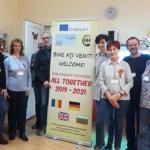 Activitate de predare/învățare/formare la CSEI Cristal Oradea în cadrul  Parteneriatului strategic Erasmus+ All together
