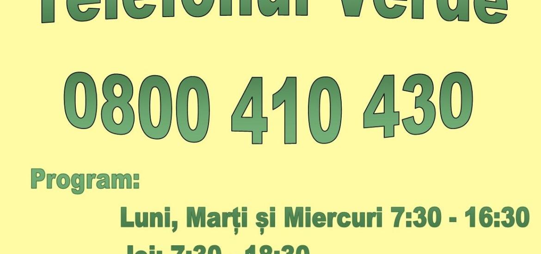 DASO pune la dispozitie un Tel Verde pentru persoanele varstnice