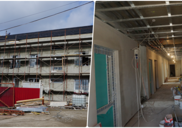 """Lucrarile la ambulatoriul Spitalului de Urgenta """"Avram Iancu"""" din Oradea se apropie de final"""