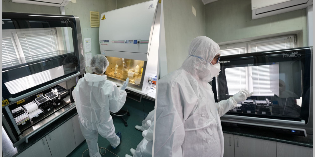 Oradea are de ieri propriul aparat de testat persoanele suspecte de coronavirus