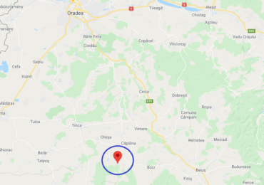 Cutremur de suprafata cu magnitudinea 3 in judetul Bihor, duminica seara