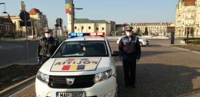 Echipaje ale politiei redau imnul Romaniei in megafoane. Cand si de ce se intampla acest lucru