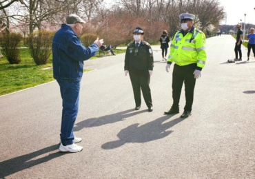 6.000 de persoane legitimate intr-o actiune a politistilor bihoreni de verificare a respectarii masurilor de siguranta