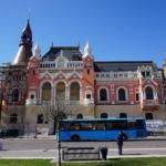 Încep lucrările de reabilitare a fațadei Palatului Episcopal Greco-Catolic din Oradea