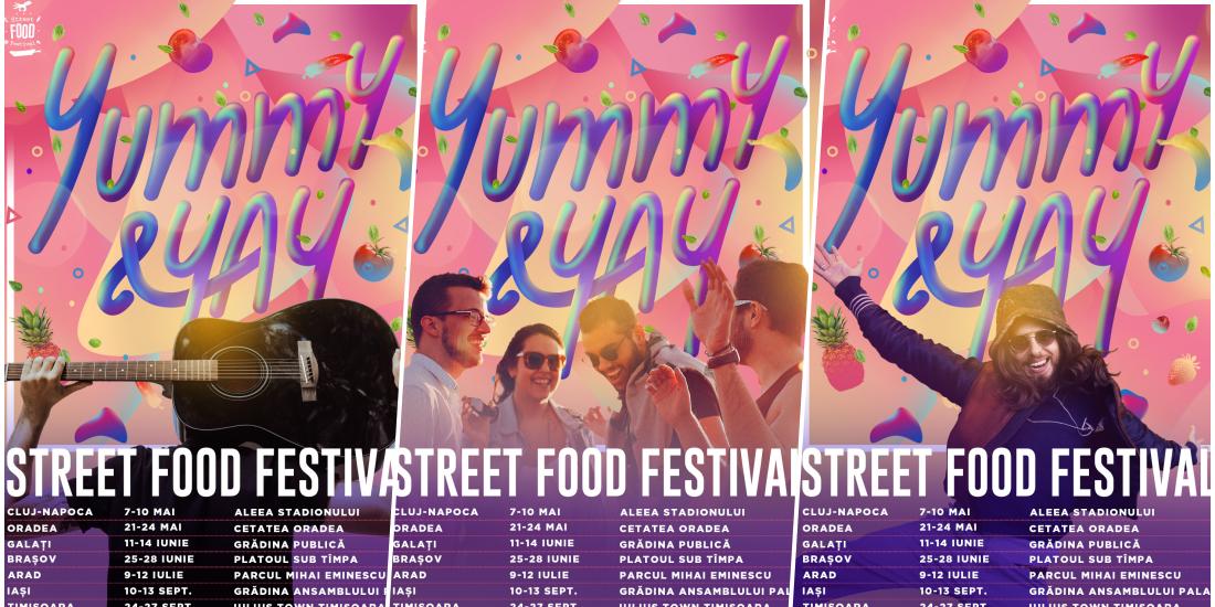 Street FOOD Festival 2020 in Oradea sub un nou concept. Vzi ce ne-au pregatit organizatorii