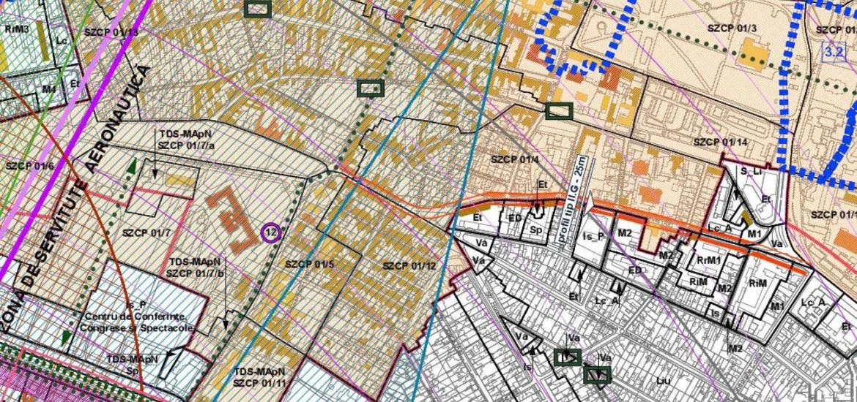 PUG-ul Oradiei prevede crearea unui inel central de trafic, patru benzi de circulatie pe Sucevei si pasaje subterane in Centrul Civic, la Magazinul Crisul si intersectia Vladimirescu cu Decebal