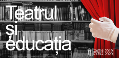 """Teatrul Regina Maria vine în sprijinul cadrelor didactice, al elevilor și al părinților din județul Bihor prin campania """"Teatrul și educația""""."""
